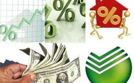 Проценты на потребительские кредиты в Сбербанке