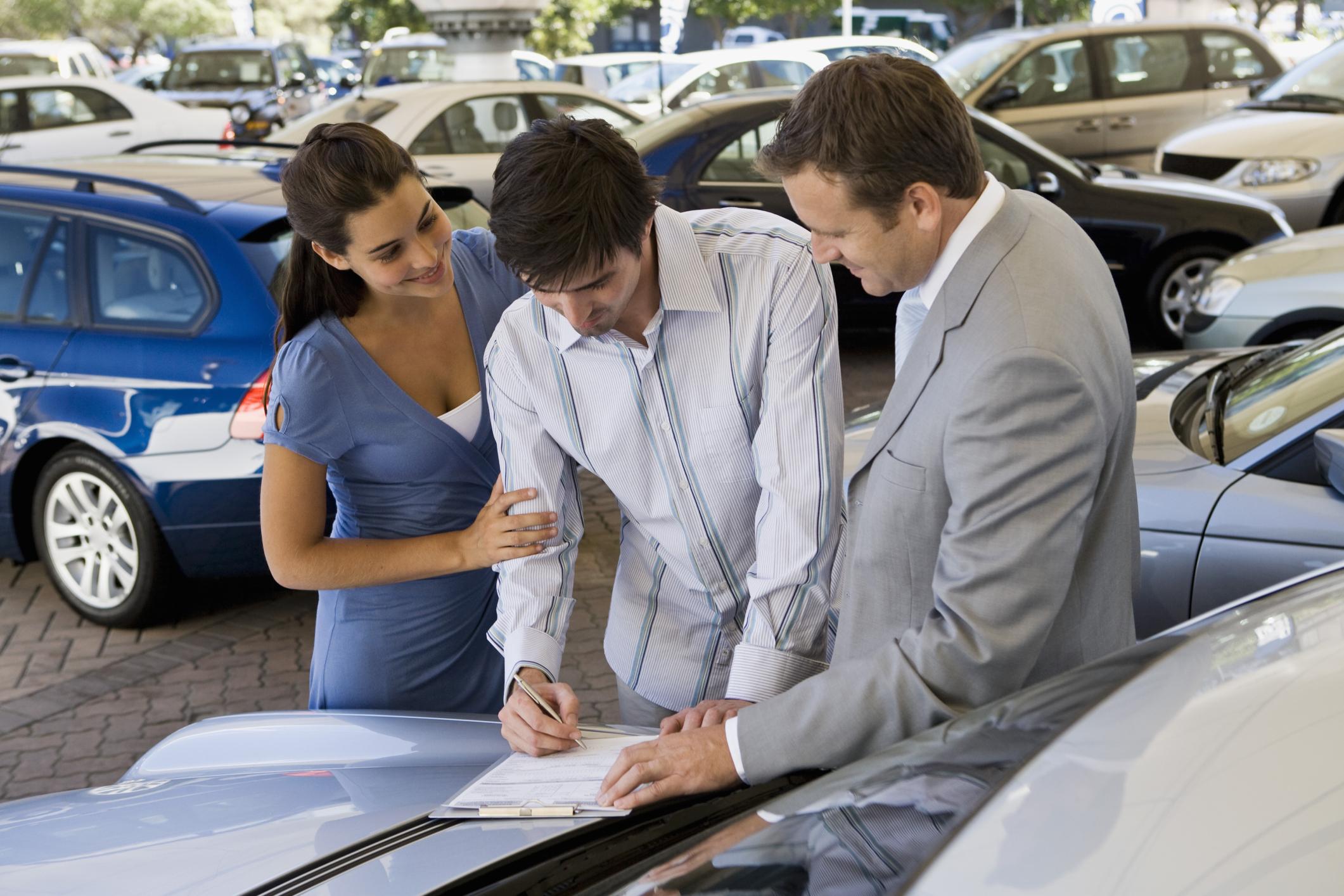 лизинг в сфере продаж новых автомобилей