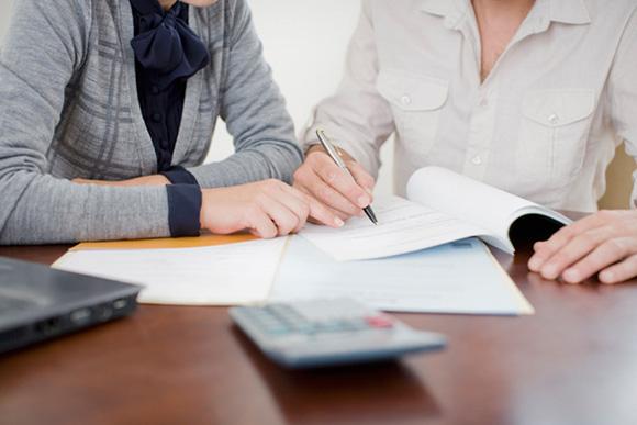 Подписания договора займа