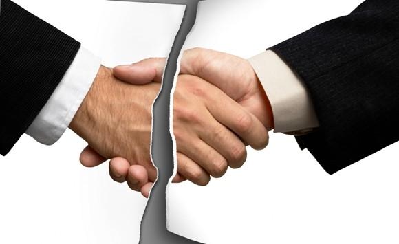 Расторгнуть договор