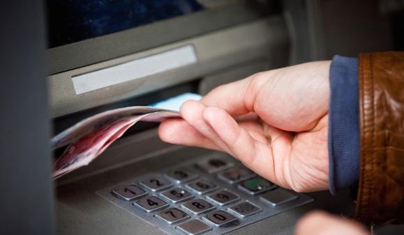 Получение наличных через банкомат