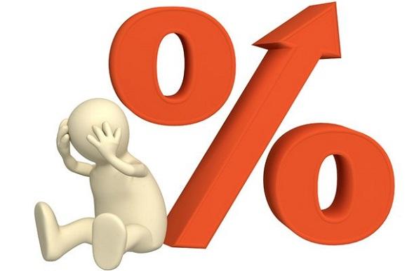 увеличение процентной ставки по кредиту