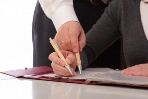 подпись документов на реструктуризацию