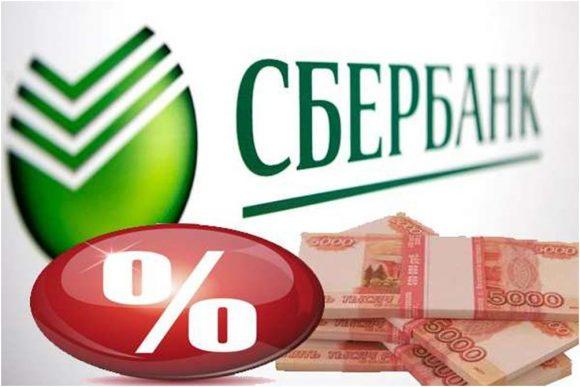 Проценты в сбербанке