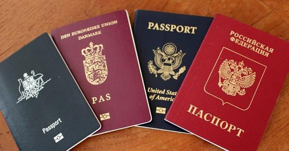 паспорт гражданина страны