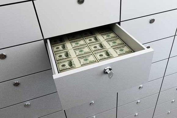 в ячейку банка «ВТБ-24» вносится покупателем денежная сумма