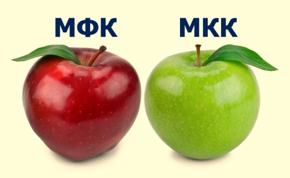 Разница в МФК и МКК