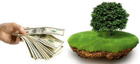 Займы под залог земли