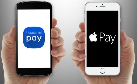 платежные системы Apple Pay и Samsung Pay