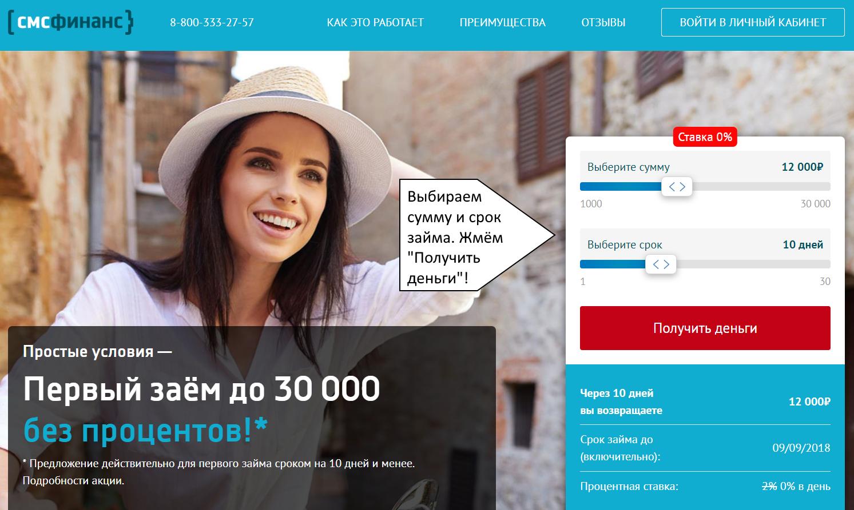 Кредит по паспорту в банке: оформить онлайн заявку на срочный займ